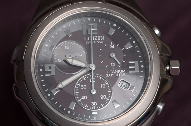 Charge Your Wristwatch With Solar Power, Citizen Watches